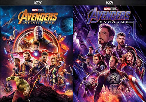 Thanos And His Stones How Does This Play Out?: Avengers Endgame + Avengers Infinity War DVD Bundle Marvel Universe For All The Marbles