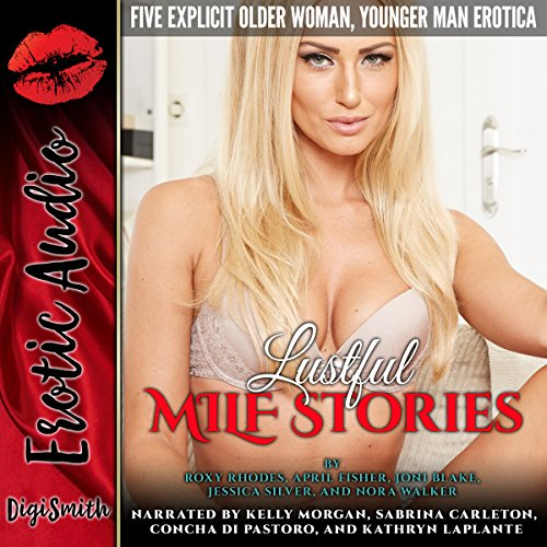 Lustful MILF Stories audiobook cover art