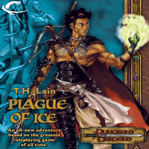 Plague of Ice audiobook cover art