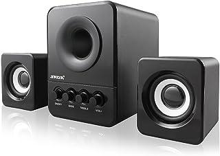 SADA D-203 USB Wired Combination Speaker Computer Speaker Bass Stereo Music Player Subwoofer Sound Box for Desktop Laptop ...