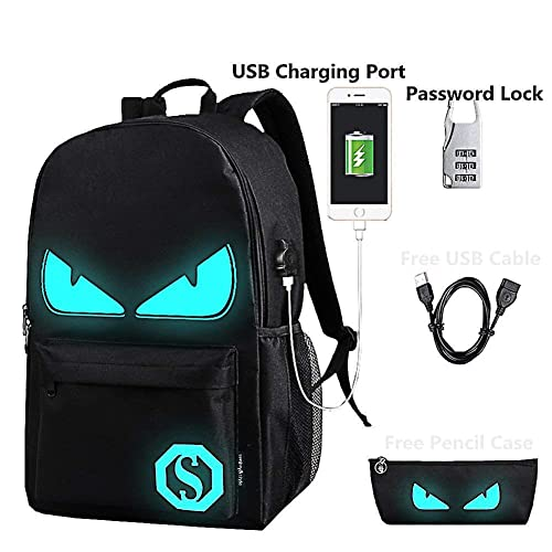 Lmeison Backpack Daypack Shoulder School Bag Laptop Bag, Unisex Fashion  Rucksack Laptop Travel Bag College 821e739f87