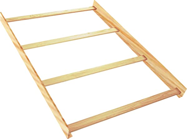 Full Size Conversion Kit Bed Rails For Baby Cache Cribs Unfinished