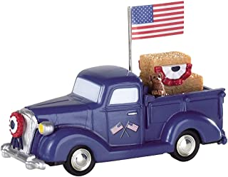Lemax Village Collection Patriotic Truck (with Flag) # 94505