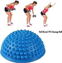 ZJchao 2 Pcs Yoga Half Ball Physical Fitness Appliance Exercise Balance Ball Massage Mat Exercise Stepping Stones Balance pods Gym Yoga Pilates Ball