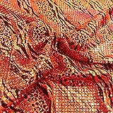 TOLKO Jersey-Stoff mit silber Glanz für Shirt Kleid Rock |