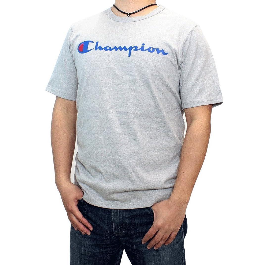 化合物祖母流体チャンピオン Tシャツ Champion (チャンピオン) メンズ 半袖Tシャツ ブランドネームプリントTシャツ Y06136