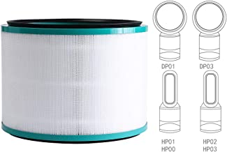 Filter Replacement, for Dyson Pure Hot and Cool Link HP02 Air Purifier, Pure Cool Link Desk Purifier, 968125-03