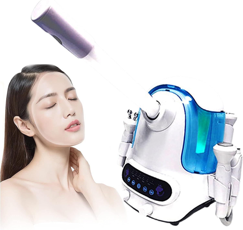 ZFAZF Máquina Belleza Oxígeno Hidrógeno, Máquina Belleza Dermoabrasión Oxígeno Hidrógeno 6 en 1 para el Rejuvenecimiento Piel Limpieza Profunda, Uso Salones Belleza y Hogar