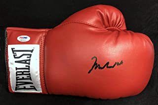 5bb593ee5fe Muhammad Ali SIGNED Everlast Boxing Glove 10 GRADE W FULL LETTER MINT - PSA