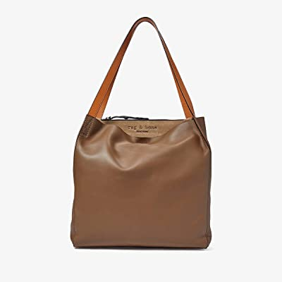 rag & bone Passenger Tote (Warm Grey) Handbags
