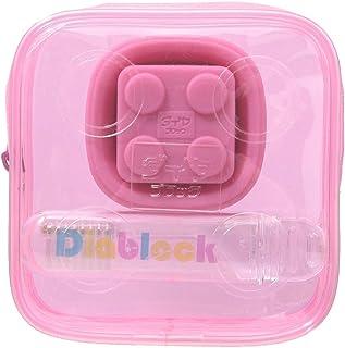 ダイヤブロック 歯ブラシセット 【コップ・歯ブラシ】 ピンク DTRV-080P