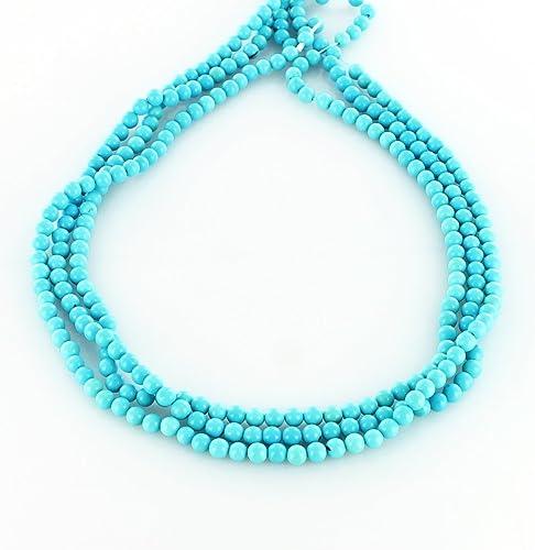 Garantía 100% de ajuste DORMIR cuentas rojoondas belleza belleza belleza del mar turquesa 4,5 mm  punto de venta
