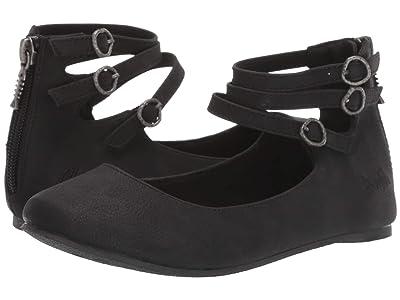 Blowfish Kids Pushi-K (Little Kid/Big Kid) (Black Utah PU) Girls Shoes