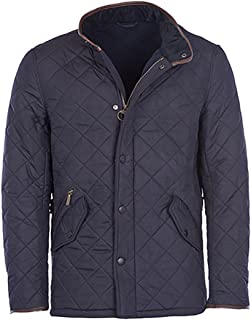 Mens Powell Quilted Jacket, XXL Navy