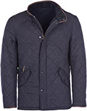 Barbour Mens Powell Quilted Jacket, XXL Navy