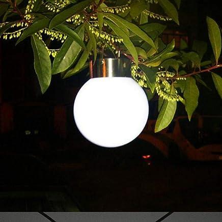 YAXuan Lampe Innovative Solarleuchten, Ball Hängen LED Lampe Outdoor Gehweg Landschaft Licht Garten Dekorative Nachtlichter Kronleuchter 2 Stücke Lampe B07MMKZJ2Q     | Verkauf