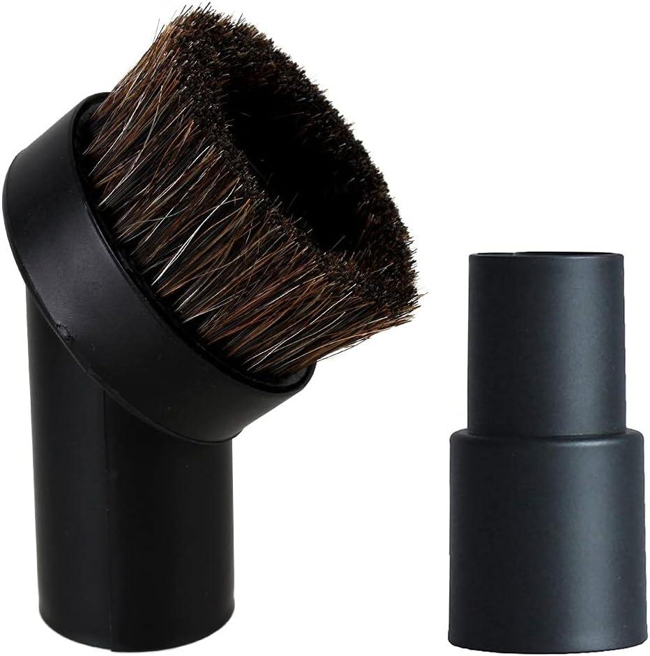 YUESUO Portland Mall 36MM Round Soft Horse Hair Vacuum Ranking TOP7 1.25 inch Horseha Brush