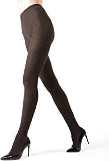 Portland Side Cable Sweater Tights | Women's Hosiery - Pantyhose