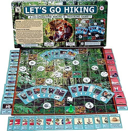Family Pastimes Let's Go Hiking - A Co-operative Hiking and Tracking Game by Family Pastimes