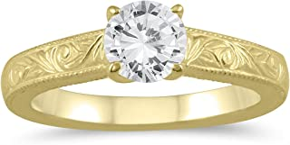 Best engraved solitaire engagement ring Reviews