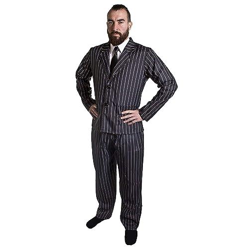 5ac0099002 I Love Fancy Dress ILFD4027M Men's Gangster Costume (Medium)