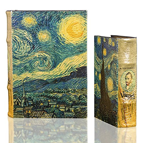 Starry Night by Vincent Van Gogh Book Box Set Comes with two book boxes Large and Small