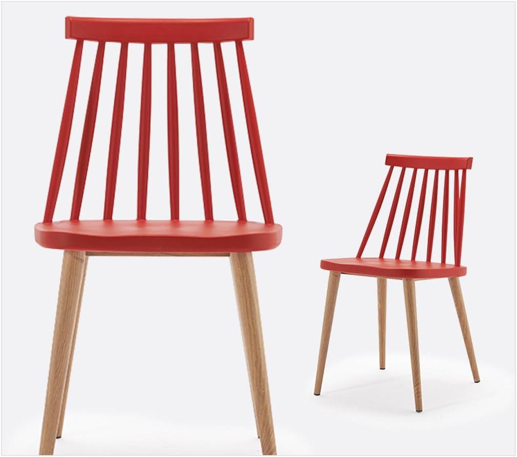 HXF- Moderne Loisirs Minimaliste Mode dinant la Chaise en Plastique Chaise Durable (Color : D) C