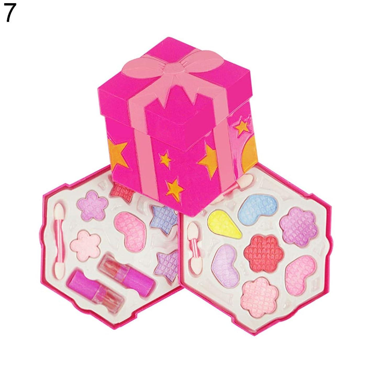 意欲直面するドナー花蝶ふりプレイメイクセット女の子シミュレーション非毒性化粧品 - 7