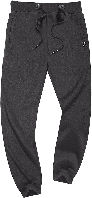 FASKUNOIE Men's Winter sale Fleece Pants Max 86% OFF Heavyweight Line Warm Sherpa