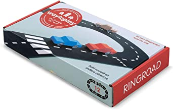 Way To Play Toys Flexible Race Track Toy Road Set Ring Road 12 Pieces