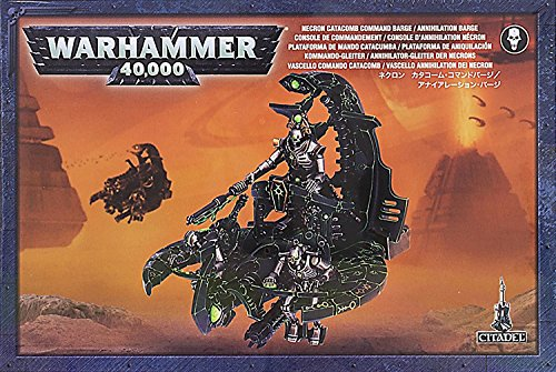 Games Workshop 99120110013 Necron Catacomb CMD Barge/Annihil. Tisch-und Miniaturspiel