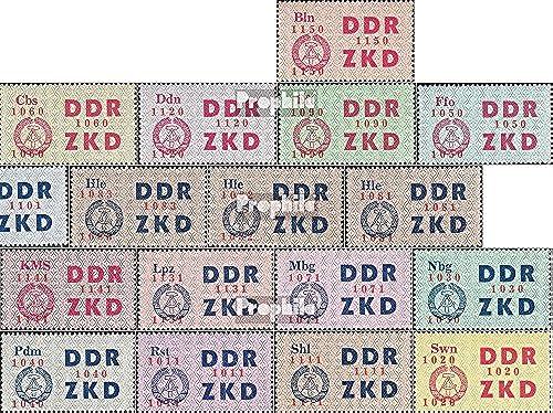 Prophila Collection DDR DC16-DC30 (kompl.Ausg.) UNGüLTIG Gef igkeitsentwertung 1964 Staatswappen (Briefürken für Sammler)