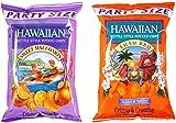 Hawaiian Kettle Chips Variety Bundle: (1) Sweet Maui Onion Kettle Style Potato Chips 16oz, (1) Luau BBQ Kettle Style Potato Chips 16oz (2 Pack Total)