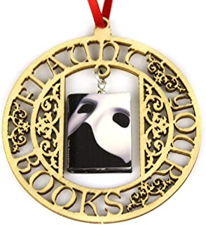 phantom of the opera mask ornament