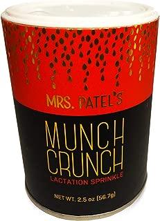 Mrs. Patel's Lactation Sprinkles, Munch Crunch, Savory Seeds & Superfoods, Sprinkle on Meals and Snacks, For Breastfeeding & Pumping Moms, Ayurvedically Inspired, Vegan, GF, Fenugreek Free (1 Shaker)