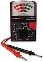 Gardner Bender GBT-500A Analog Battery Tester for 1.5 V Button Cell / 22.5 Photo/AA/AAA / 12 V / 9 V/Lantern Cells & More,...