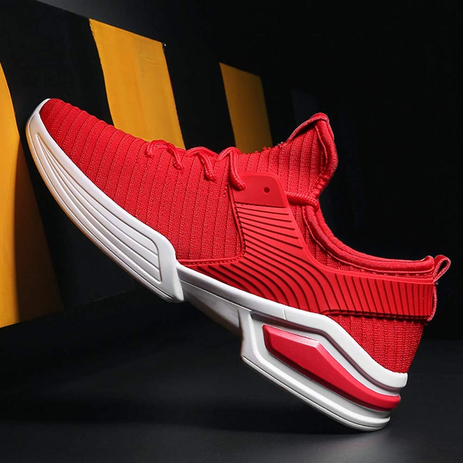 YYAMO shoes Men Sport shoes Tide Couple shoes Casual shoes Riding Travel Gym Jogging Walking Outdoor Products Running Red