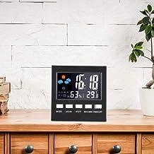 01 Medidor de Humedad Termómetro Higrómetro Temperatura Probador de Humedad Probador de Temperatura del Aire para Uso en la habitación del bebé
