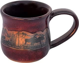 Moosewrap 14 Oz. Mug in Real Red glaze