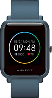 Amazfit Bip S Lite Smartwatch Fitness Watch with Heart Rate, Sleep Monitor, Sports Watch with 14 Sports Modes, 5 ATM Water...