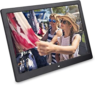 15.4Inch 1280 * 800HD Digital Photo Frame 16:10 IPS Display Auto Slideshow Zoom Image Stereo Video Music Player