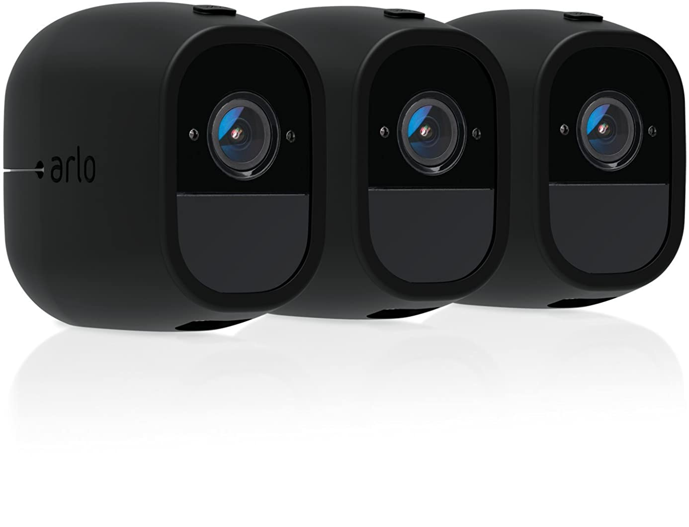 Arlo Accessory - Skins | Set of 3 – Black | Compatible with Arlo Pro only| (VMA4200C)