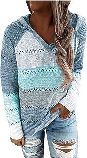catmoew Snakell Mujer Sudadera Tops Chaqueta Suéter Jersey Mujer Otoño Invierno Talla Grande Hoodie Sudadera Suelto Sólido...
