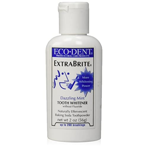 Amazon Com Eco Dent Extra Brite Tooth Whitener Without Fluoride
