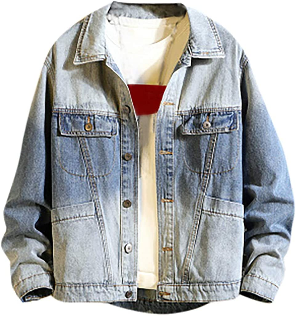 Coats for Men Jackets Autumn Stitch Casual High material Trend Popular popular Outwear