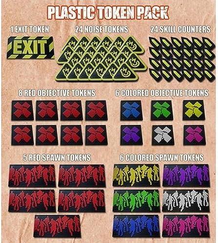 echa un vistazo a los más baratos Zombicide Plastic Tokens Tokens Tokens by Unknown  compra limitada