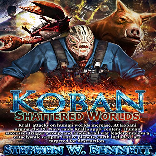 Shattered Worlds audiobook cover art