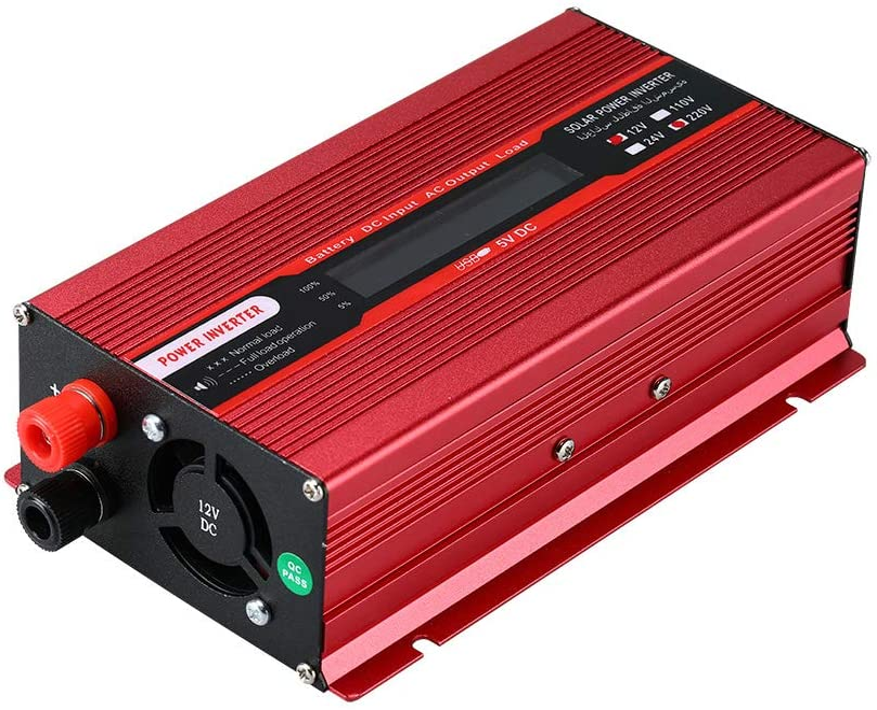 3000W 品質保証 Power Inverter タイムセール Car Solar to DC AC 220V 12V