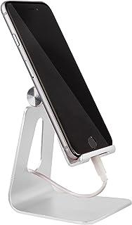 MyGadget smartphone stand - aluminium bureau houder - mobiele telefoon & tablet multi hoek stand voor oa iPhone/iPad, Sams...