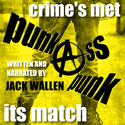 Punk Ass Punk audiobook cover art
